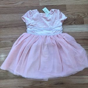 NWT Children's Place Dress Rose Dust